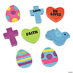 "Rubber ""He Lives!"" Mini Erasers"