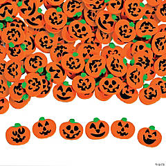 Rubber Jack-O'-Lantern Mini Eraser Assortment