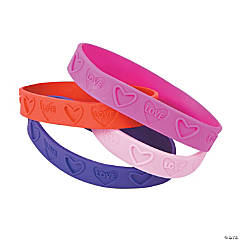 Rubber Love Bracelets