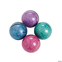 Rubber Marbleized Bouncing Balls