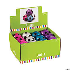 Rubber Metallic Soccer Ball Handballs