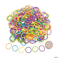Rubber Neon Fun Loops Assortment Kit