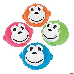 Rubber Neon Monkey Splat Balls