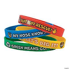 Rubber Paw Patrol Bracelets