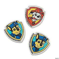 Rubber Paw Patrol Erasers