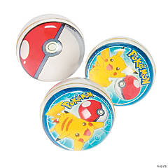 Rubber Pikachu & Friends Bouncing Balls