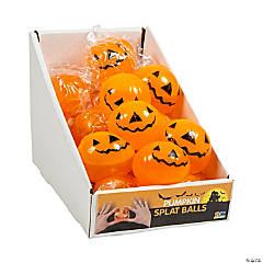 Rubber Pumpkin Splat Balls PDQ