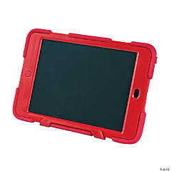 Rubber Red Tough iPad® Mini Cases with Kickstand