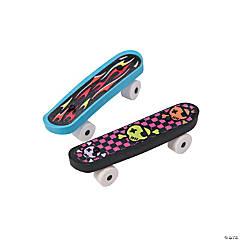 Rubber Skateboard Erasers