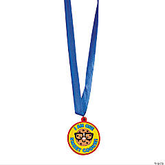 Rubber Smart Cookie Award Medals