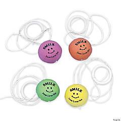"Rubber ""Smile Jesus Loves You"" Return Balls"