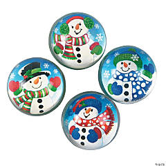 Rubber Snowman Bouncing Balls
