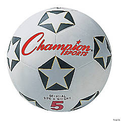 Rubber Soccer Ball Size 5, Set of 3