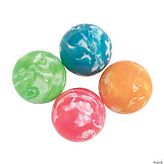 Rubber Spring Brights Bouncing Balls