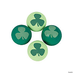 Rubber St. Patrick's Day Bouncing Balls