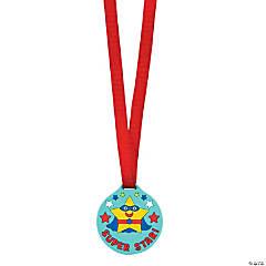 Rubber Super Star Award Medals