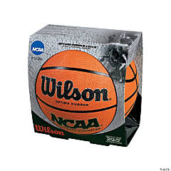 Rubber Wilson® NCAA™ Official Size Basketball