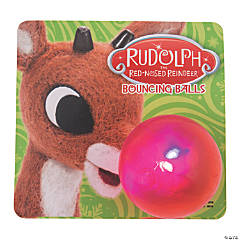 Rudolph the Red-Nosed Reindeer® Light-Up Bouncing Balls with Card