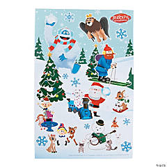 Rudolph the Red-Nosed Reindeer® Sticker Scenes