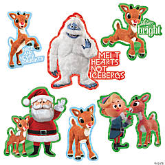 Rudolph the Red-Nosed Reindeer® Christmas Cutouts