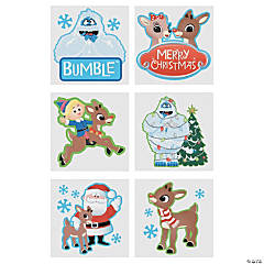 Rudolph the Red-Nosed Reindeer® and Friends Temporary Tattoos