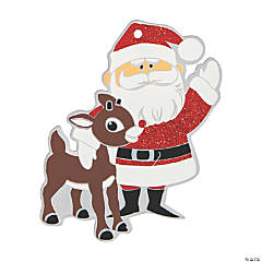 Rudolph the Red-Nosed Reindeer® & Santa Ornaments