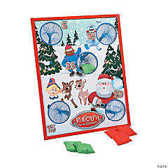Rudolph the Red-Nosed Reindeer® Bean Bag Toss Game