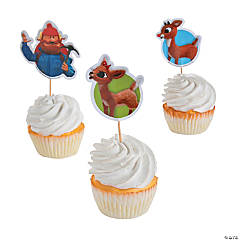 Rudolph the Red-Nosed Reindeer® Cupcake Picks