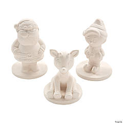Rudolph the Red-Nosed Reindeer® DIY Ceramic Figurines