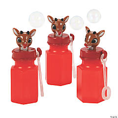 Rudolph the Red-Nosed Reindeer® Mini Bubble Bottles