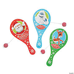Rudolph the Red-Nosed Reindeer® Paddleball Games