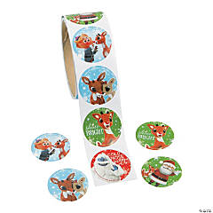 Rudolph the Red-Nosed Reindeer® Stickers