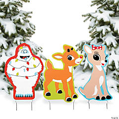 Rudolph the Red-Nosed Reindeer® Yard Signs
