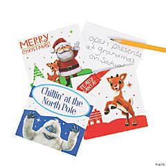 Rudolph the Red-Nosed Reindeer<sup>®</sup> Notepads