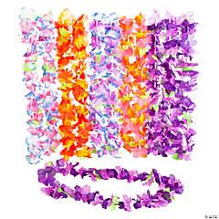 Ruffle Petal Flower Leis