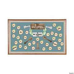 Rustic Classroom Bulletin Board Set