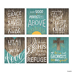 Rustic Faith Posters