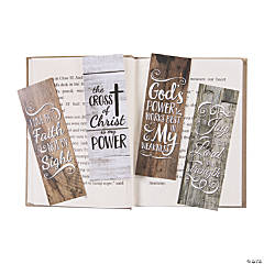 Rustic Religious Printed Bookmarks