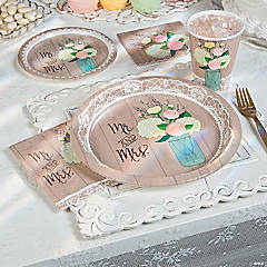 rustic wedding bridal shower collection