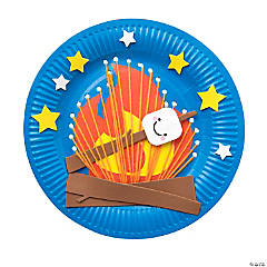 S'More Paper Plate Craft Kit