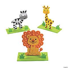 Safari Animal Pony Bead Craft Kit