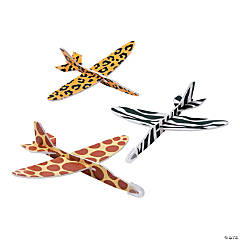 Safari Animal Print Gliders