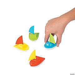 Sailboat Pull-Back Toys