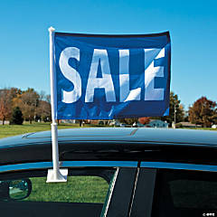 Sale Car Window Flag