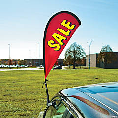 Sale Swoop Car Flag