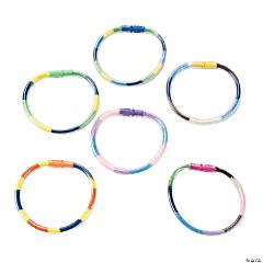 Sand Art Bracelets - 24 Pc.