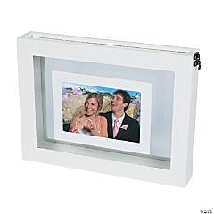 Sand Ceremony White Picture Frame