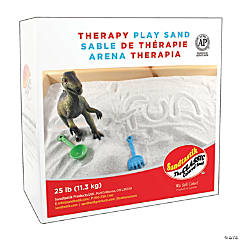 Sandtastik® Indoor Therapy Play Sand - 25 lb (11.3 kg) Box