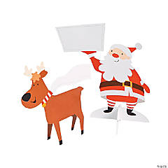 Santa & Reindeer Place Cards