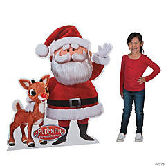 Santa & Rudolph the Red-Nosed Reindeer® Stand-Up